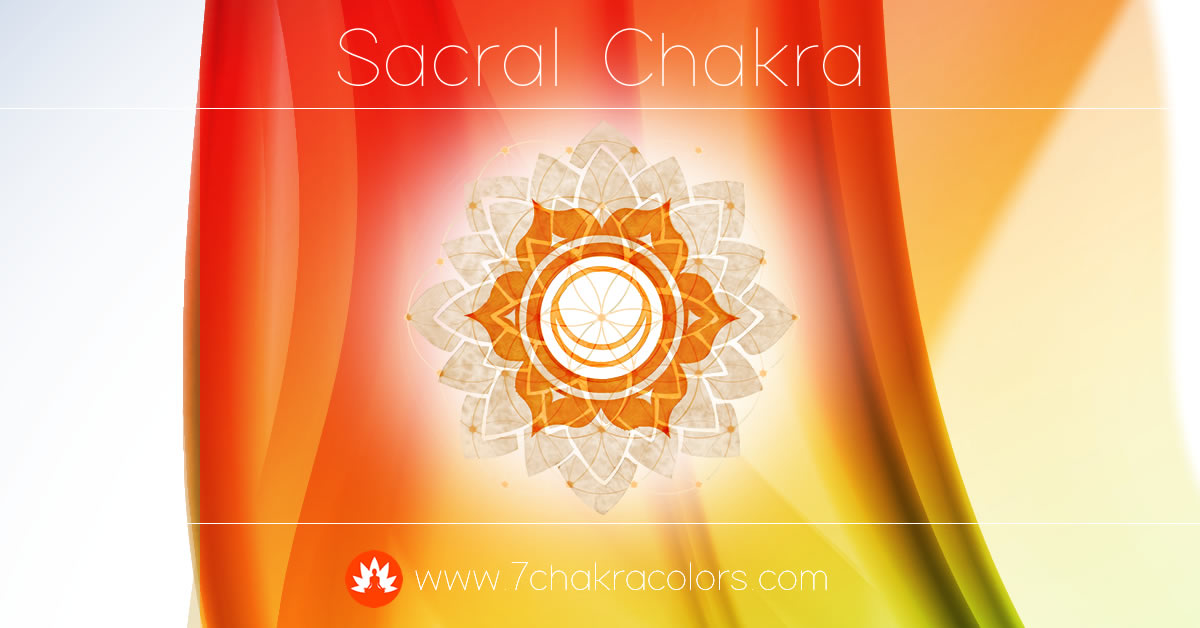 Sacral Chakra Symbol, Color and Meaning