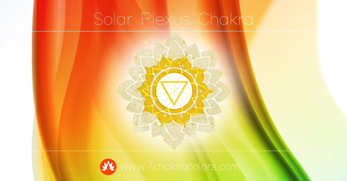 Solar Plexus Chakra Symbol, Color and Meaning