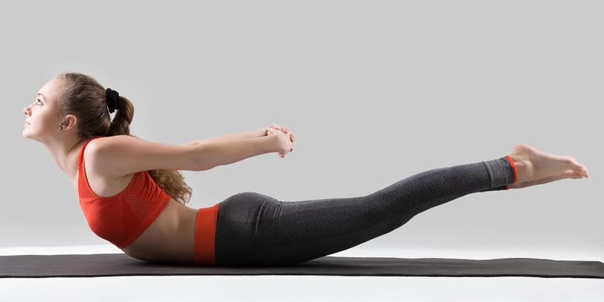 Heart Chakra Yoga Pose: Shalabhasana