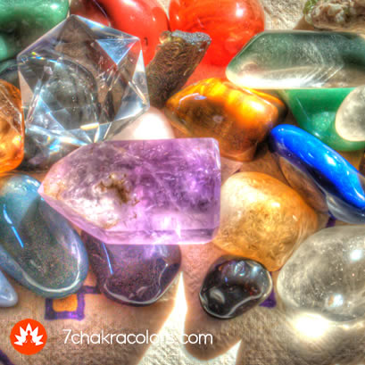 Charging Crystals and Chakra Stones