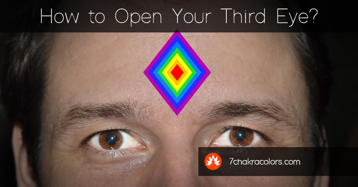 How to open your third eye?