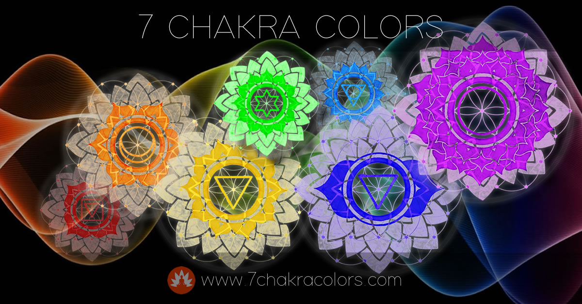 7 Chakra Colors Website