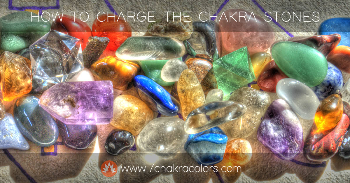 Charging the Chakra Stones - Header Image