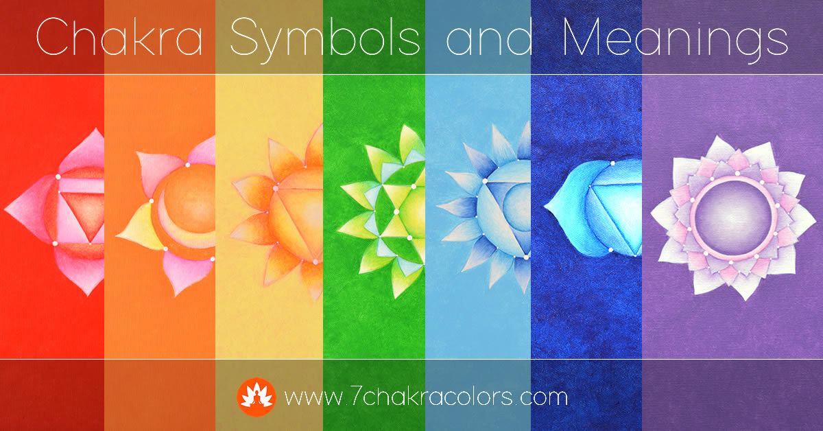Chakra Symbols and Meanings