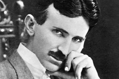 Example of Man with Healthy Sixth Chakra - Nikola Tesla