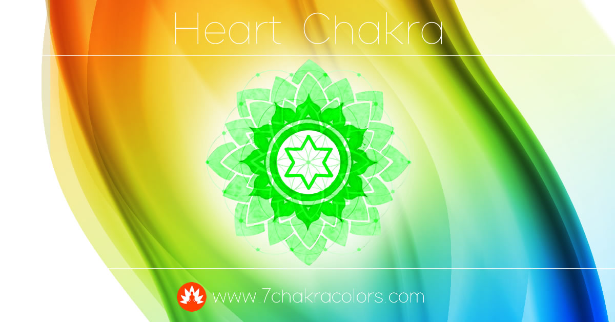 Heart Chakra Symbol, Color, and Meaning