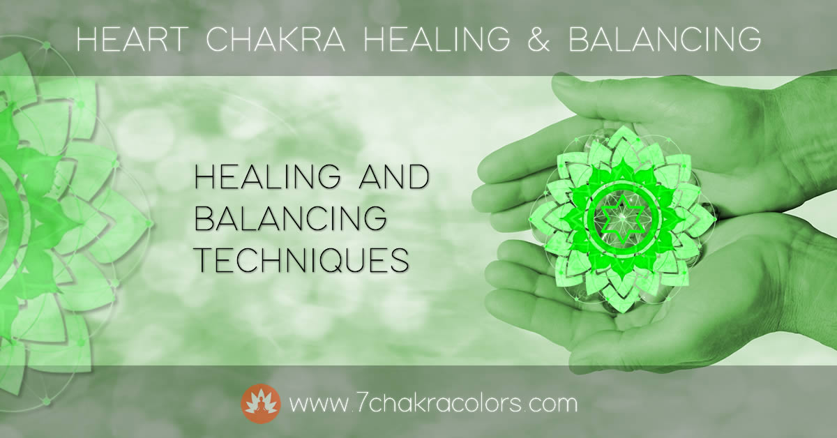 Heart Chakra - Healing and Balancing Header Image