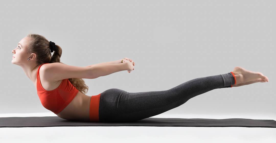 Heart Chakra Yoga Pose - Salabhasana