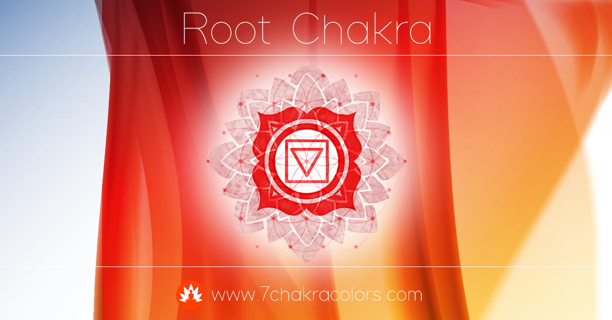 Root Chakra Symbol, Color, and Meaning
