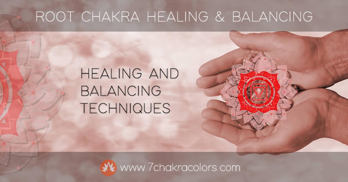 Root Chakra Healing and Balancing