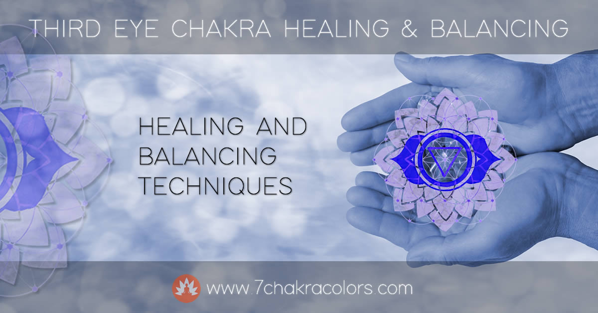 Third Eye Chakra - Healing and Balancing Header Image