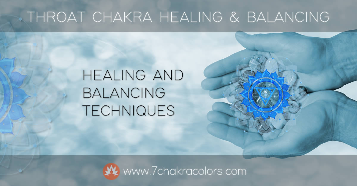 Throat Chakra - Healing and Balancing Header Image