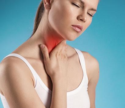 Throat Chakra Health Problems - Sore Throat