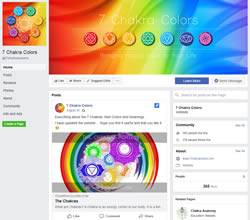 7 Chakra Colors Facebook Page