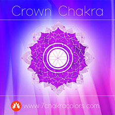 Crown Chakra Violet Color Symbol - Thumbnail