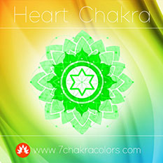 Heart Chakra Green Color Symbol - Thumbnail