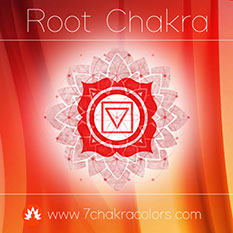 Root Chakra Red Color Symbol - Thumbnail
