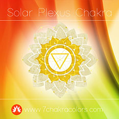 Solar Plexus Chakra Yellow Color Symbol - Thumbnail