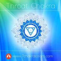 Throat Chakra Blue Color Symbol - Thumbnail