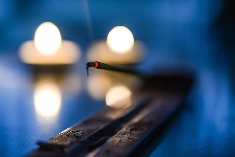 Burning Incense Stick