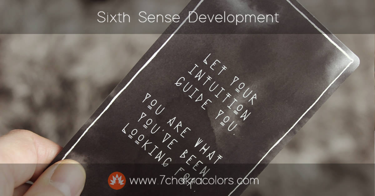 Sixth Sense Development - Featured Canvas Image