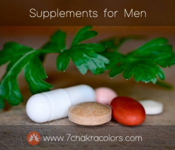 Supplements For Men - Featured Canvas Image